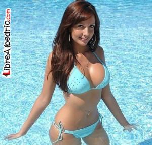 bikini azul bebe